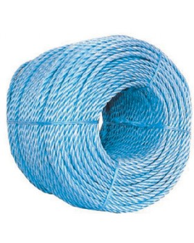 220m X 8mm  Polypropylene Blue Rope