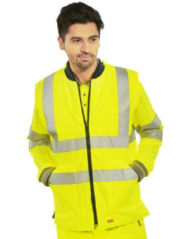 High Visibility Body Warmer - Hi Vis Gilet