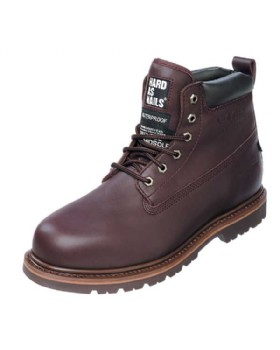 Buckler Waterproof SBP Brown Safety Boot