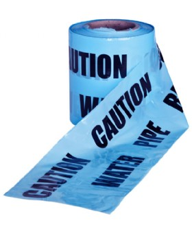 Caution Buried Water Pipe Tape