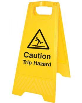Caution Trip Hazard 'A' Board Sign