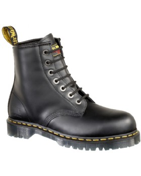 Doc Marten Black Leather Safety Boot SB - Rated