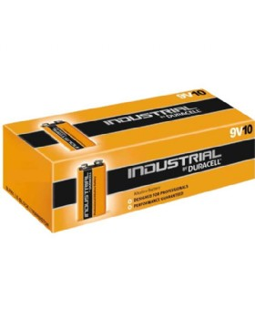 Duracell Industrial PP3  Alkaline Batteries 9V (Pack Of 10)