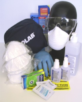 Ebola Protection Kit - Frontline Staff Public Contact