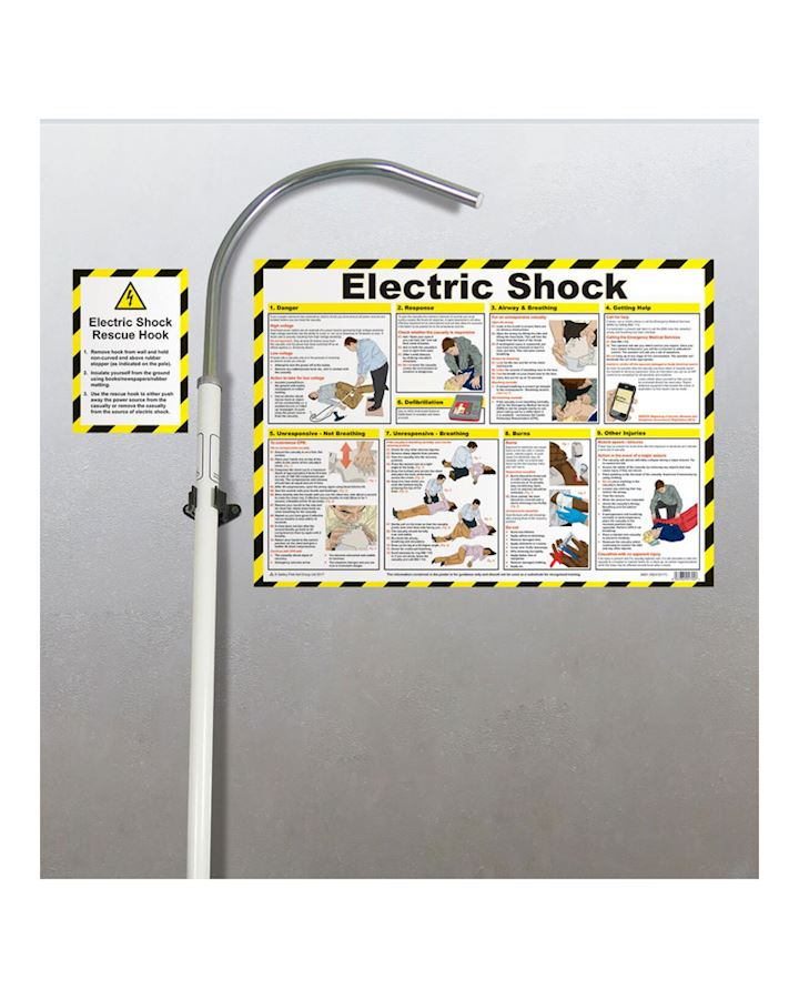 Electric Shock Insulated Rescue Hook