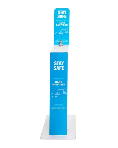 5 Litre Floor Standing Hand Sanitiser Dispenser