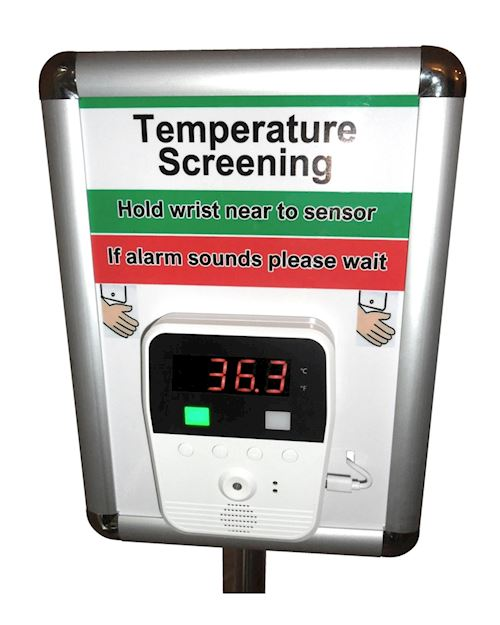 Floor Standing Infrared Thermometer