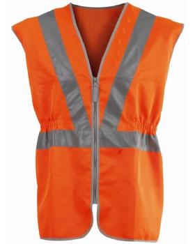 High Visibility Tear Apart Waist Coat Class 2 EN510