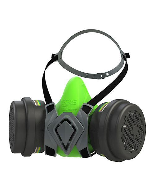 Reusable Half Mask with ABEK1P3 R Filter - BLS 4400 Next