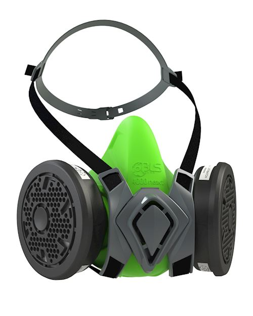 Reusable Half Mask with P3 R Filters - BLS 4500 Next
