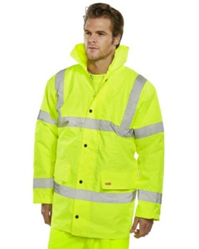 High Visibility Jacket Class 3 Yellow