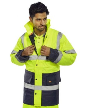 High Visibility Two Tone Jacket Class 3