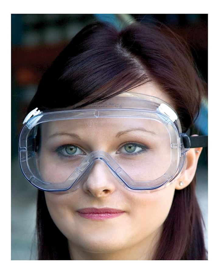 Indirect Vent Goggle With Anti-Mist Coating