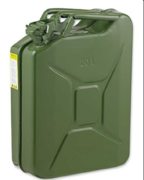 Jerry Can 20 Litre Nato Green  - UN Approved Jerrycan