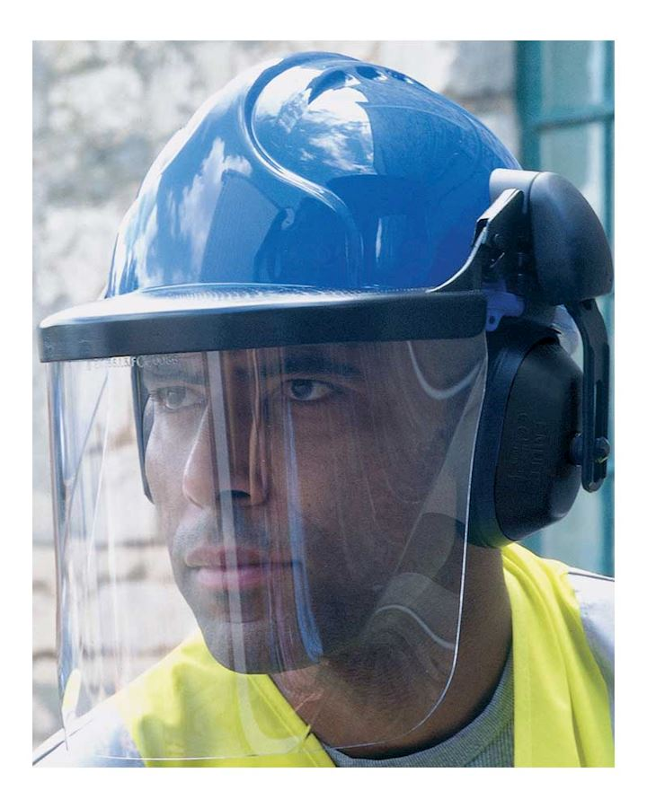 JSP Sure-Fit Poly Carbonate Visor
