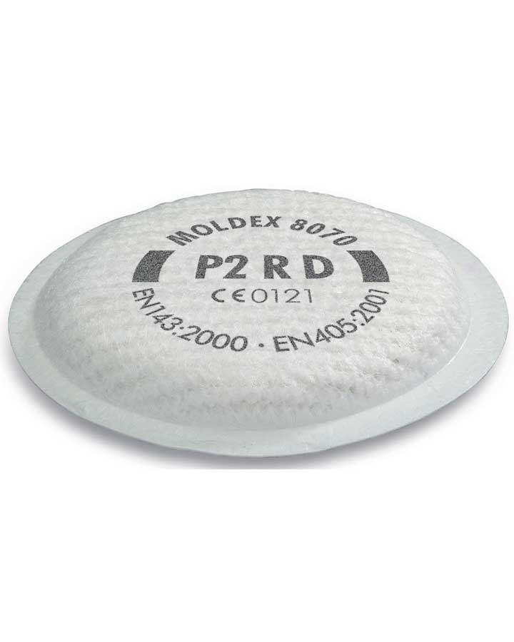 Moldex P2 Rd Filter For 8000 Series