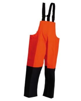Heavy Duty Bib And Brace Oilskin Trouser