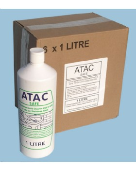 Ottimo Toilet Cleaner Atac Safe Pack Of 6 X 1 Litre