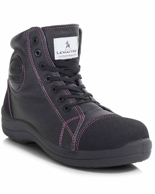 Ladies Safety Boot - Black S3