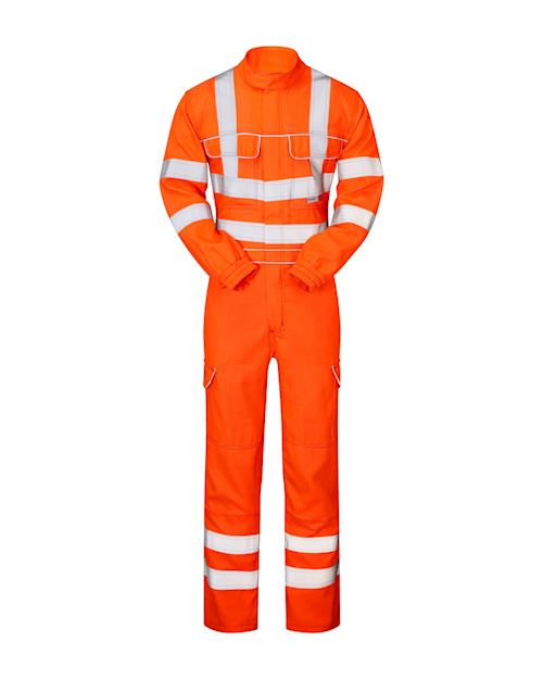 Hi-Vis Flame Retardant Anti-Arc Coverall PRARC05