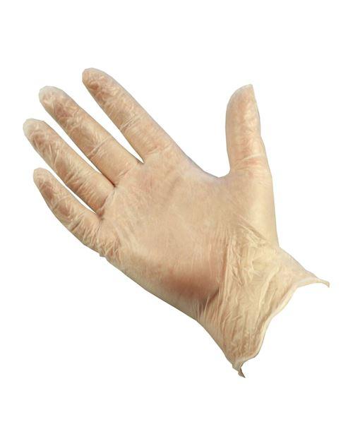 PRO Powdered Clear Vinyl Gloves