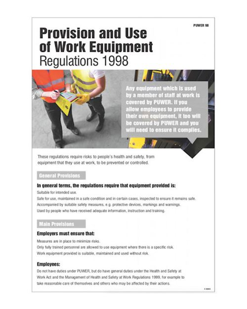 Provision and Use of Work Equipment Regs