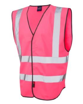 Pink Hi Vis Waistcoat - Vest