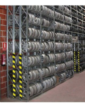 Rectangular Foam Surface Protector -  Edging Strip Yellow-Black