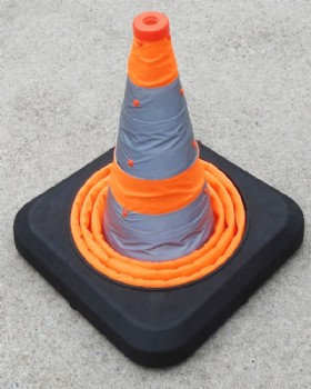 Telescopic Road Cone, Collapsible - Pop Up Portable Cone