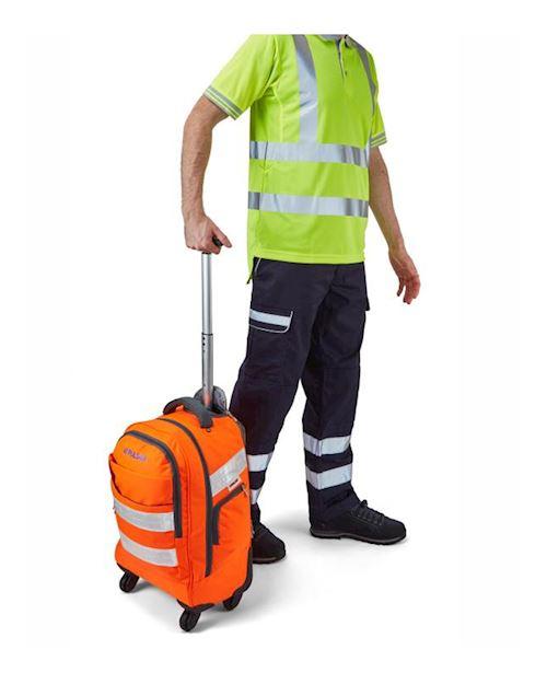Hi-Vis Orange Trolley Back Pack PR545