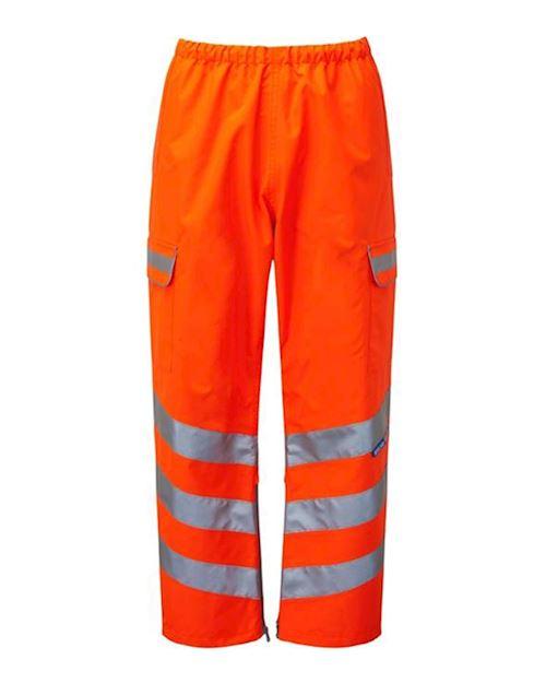 Hi Vis Orange Waterproof RIS-3279-TOM Trousers