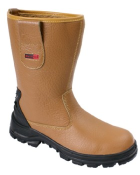 Rigger Boots Fur Lined - Steel Toe & Midsole  By Blackrock