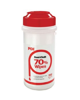Sanicloth 70 Disinfectant Wipes X 200 For Hard Surfaces
