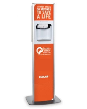 Nexa Freestanding Dispenser For Spirigel Complete