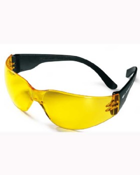Swiss One Crackerjack Yellow Lens Safety Spectacle