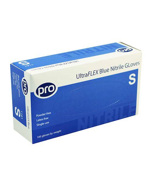 UltraFLEX Blue Nitrile Gloves - Pack of 100