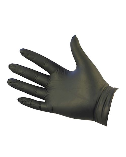 UltraFLEX Black Nitrile Gloves - Pack of 100
