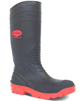 Safety Wellington With Steel Toe & Midsole - Titan Wellies