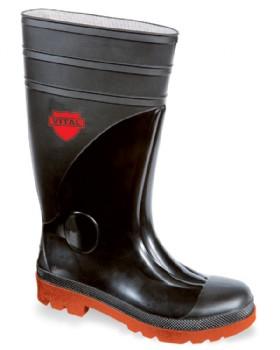 Size 14 And Size 15 Safety Welly With Midsole - Sitemaster