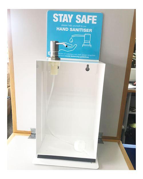 5 Litre Wall - Desk Mounted Hand Sanitiser Dispenser