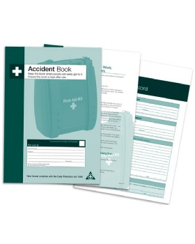 Accident Report Books Hse Spec - Tear Off Detachable Pages