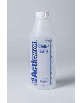 Actichlor Mixing Bottle  - Tablet Dilution  Bottle