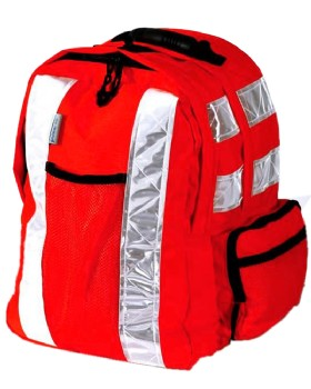 High Visibility Tear Apart Backpack  Rucksack Railway