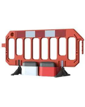 Road Rock Gate Safety Barrier Stabiliser Block