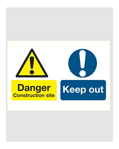 Danger Construction Site/Keep out - Site Safety