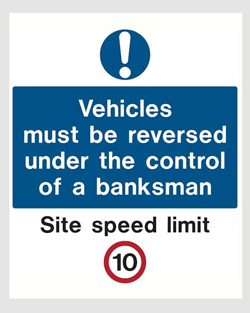 Vehicle Site Sign