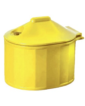 Grit Bin  Small - C/W Rock Salt And Scoop  - 35L Capacity