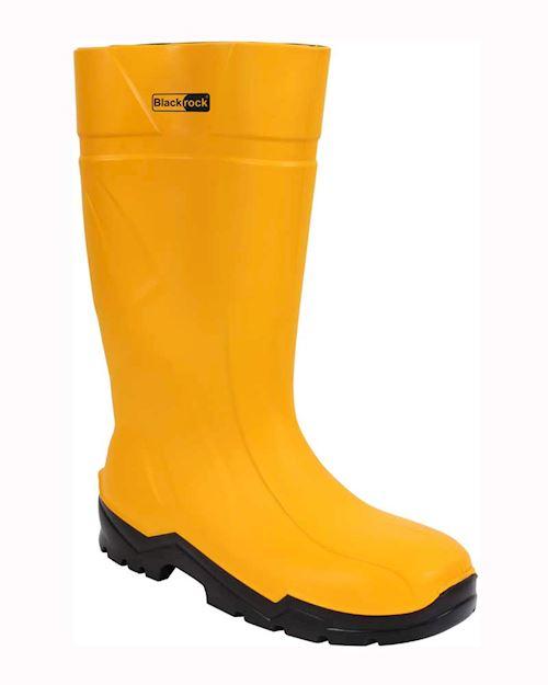 PU Safety Wellington - Green/Yellow
