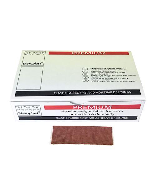Premium Elastic Fabric Plasters - 7.5cm x 2.5cm