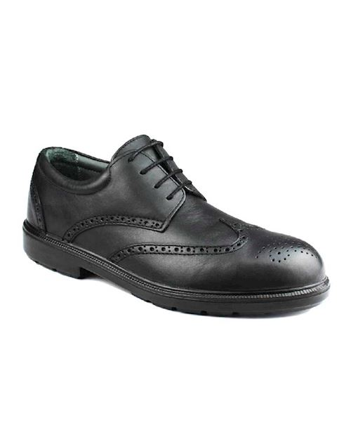 Oxford Brogue Black S3 Safety Shoe